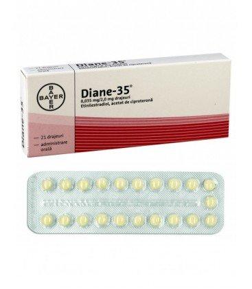DIANE-35 0,035 mg/2,0 mg X 21 DRAJ