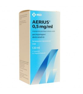 AERIUS 0,5mg/ml x 1 SOL. ORALA 0,5mg/ml MERCK SHARP   DOHME