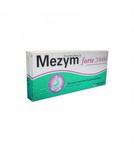 MEZYM FORTE 20.000 X 20 COMPR. FILM. GASTROREZ