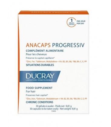 DUCRAY Anacaps Progressive x 30cps PIERRE FABRE