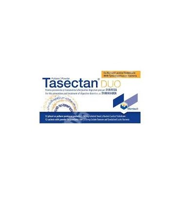 Tasectan Duo 250mg uz pediatric x 12 plicuri cutie  PHARMASWISS