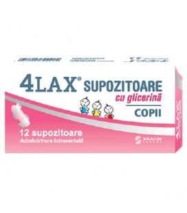 4Lax Glicerina Copii x 12sup
