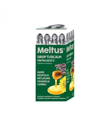 MELTUS Tusicalm sirop pt adulti x100ml