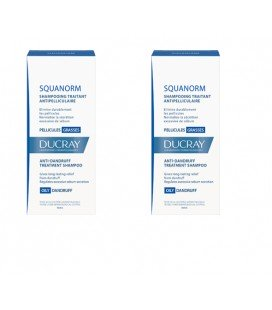 DUCRAY Squanorm matreata grasa x 200ml 1+1