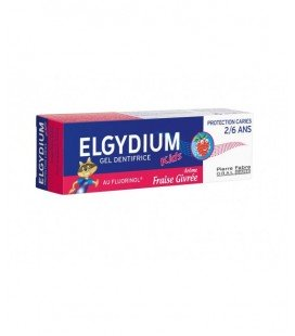 ELGYDIUM Pasta dinti kids capsuni x 50ml