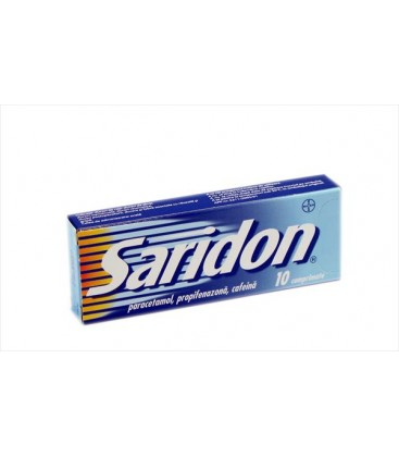 SARIDON X 10 COMPR.