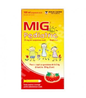 MIG PEDIATRIC 20 mg/ml X 1 SUSP. ORALA