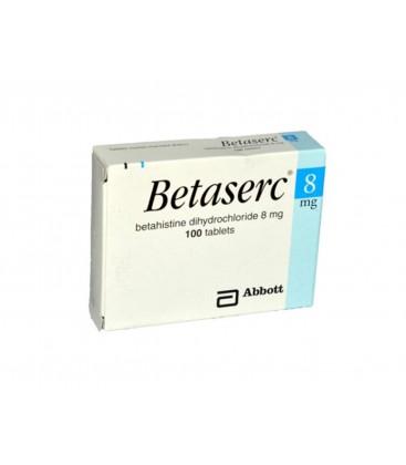BETASERC 8 mg X 100 COMPR. 8mg