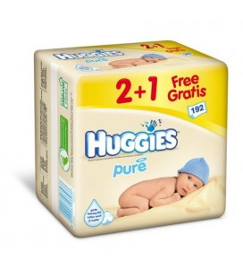 HUGGIES servetele umede 64buc x 3pachete