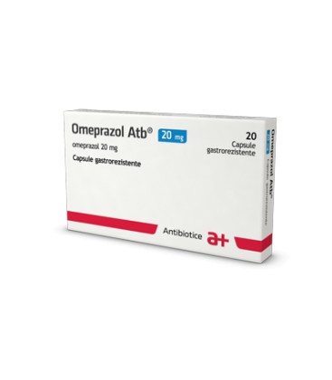 OMEPRAZOL ATB 20 mg X 20 CAPS. GASTROREZ