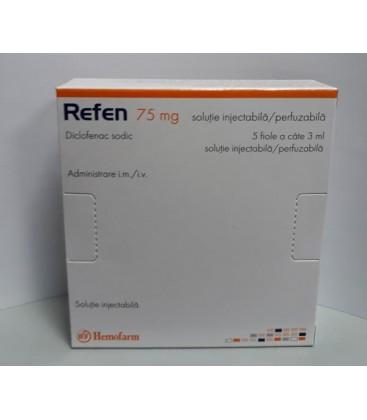 REFEN 75 mg X 5 SOL. INJ. PERF. 25mg/ml