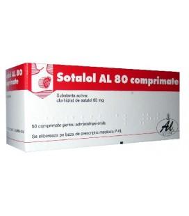 SOTALOL AL 80 X 50 COMPR.