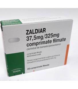 ZALDIAR 37,5mg + 325mg X 20 COMPR. FILM.