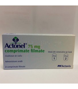 ACTONEL 75 mg X 2 COMPR. FILM.
