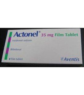 ACTONEL SAPTAMANAL 35 mg X 4 COMPR. FILM.