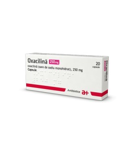OXACILINA 250 mg X 20 CAPS