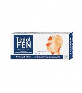 TEDOLFEN 200 mg/30 mg  X 12 COMPR. FILM.