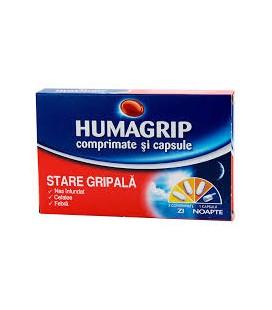 HUMAGRIP X 16 COMPR.+CAPS