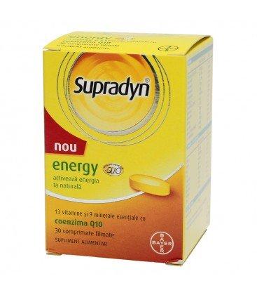 Supradyn Energy coenzima Q10 x 30cps