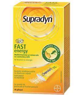 Supradyn Fast Energy coenzima Q10 x 10pl