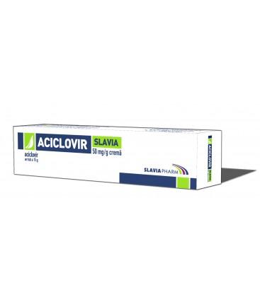 ACICLOVIR SLAVIA 50 mg/g X 1 CREMA 50mg/g SLAVIA