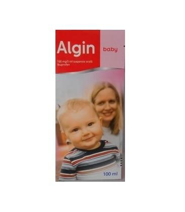 ALGIN BABY 100 mg/5 ml X 1 SUSP. ORALA