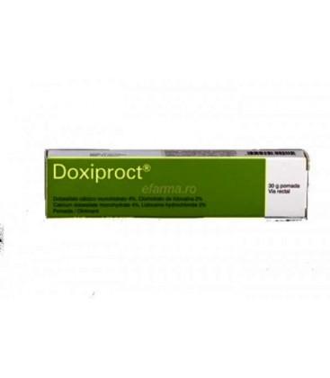 DOXIPROCT PLUS X 1 UNGUENT RECTAL FARA CONCENTRATIE