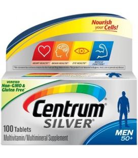 CENTRUM Silver 50+ pentru barbati x 30cp