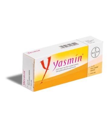 YASMIN 0,03 mg/3mg X 21 COMPR. FILM