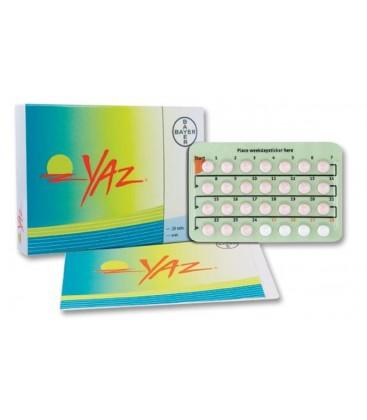YAZ 0,02 mg/ 3mg X 24 COMPR. FILM