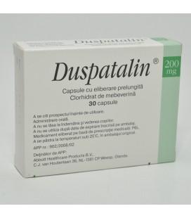 DUSPATALIN 200 mg X 30 CAPS. ELIB. PREL. 200mg ABBOTT