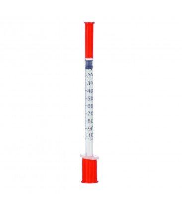 Seringa insulina 1ml x 1buc