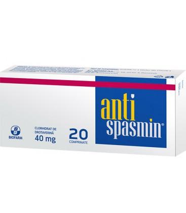 ANTISPASMIN 40 mg X 20 COMPR. 40mg BIOFARM