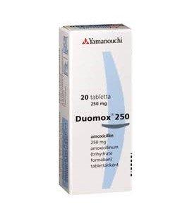 DUOMOX 250 mg X 20 COMPR. PT. DISPERSIE ORALA 250mg ASTELLAS