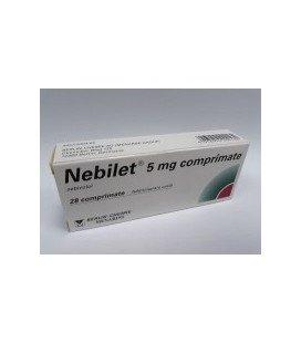 NEBILET (R) X 28 COMPR. 5mg