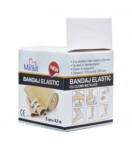 Bandaj elastic 5 cm x 4,5 m x 1 buc