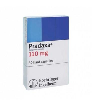 PRADAXA 110mg X 10 CAPS. 110mg BOEHRINGER-RX