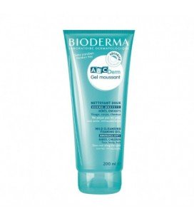 BIODERMA ABC DERM Gel spumant x 200ml CUTIE  BIODERMA