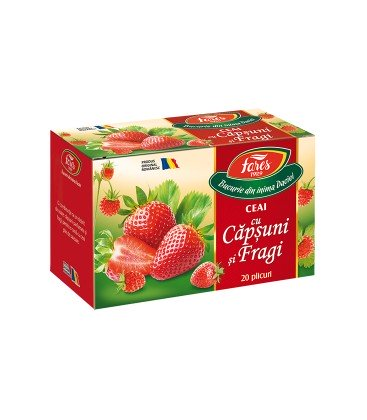 Ceai Aromfruct capsuni si fragi x 20dz