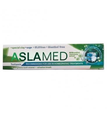 ASLAMED Pasta de dinti tratament homeopat x 75ml