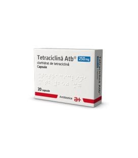 TETRACICLINA ATB 250 mg X 20 CAPS.