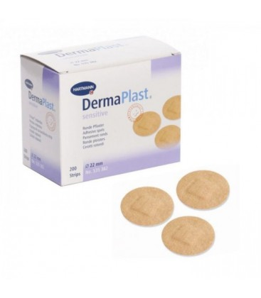 DERMAPLAST Sensitive rotund x 200buc