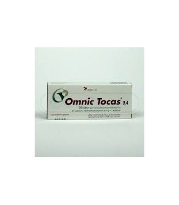 OMNIC TOCAS (R) 0,4 X 30 COMPR. FILM. ELIB. PREL. 0,4mg ASTELLAS