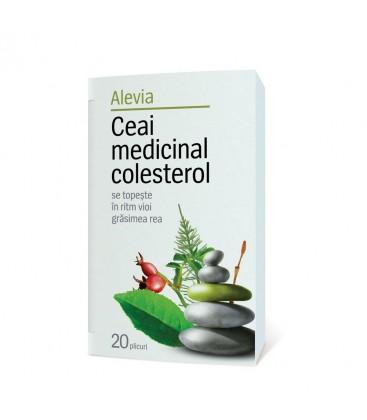 Ceai medicinal colesterol x 20 pl cutie  ALEVIA