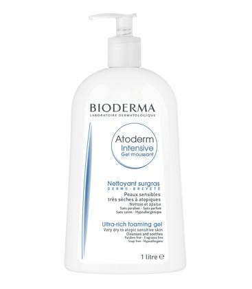 BIODERMA Atoderm Intensive gel spumant x 1000ml Cutie  BIODERMA