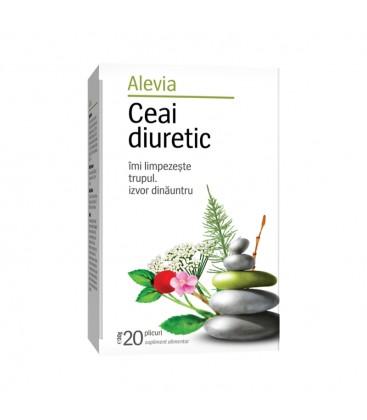 Ceai medicinal diuretic x 20 pl cutie  ALEVIA