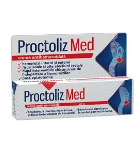 Proctoliz Med crema x 25g cutie