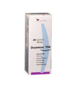 DUOMOX 750 mg X 20 COMPR. PT. DISPERSIE ORALA 750mg ASTELLAS