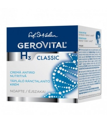 GEROVITAL GH3C Crema antirid nutritiv  x 50ml