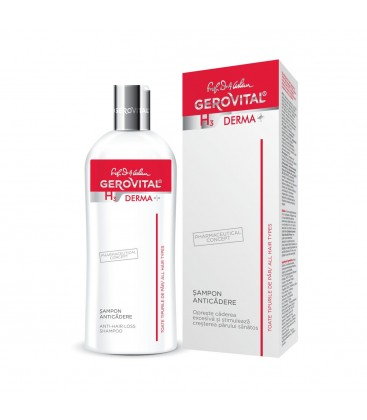 GEROVITAL H3D Sampon antimatreata x 200ml